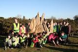 Garboldisham Primary School visit Broomscot Common