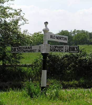 Local signpost